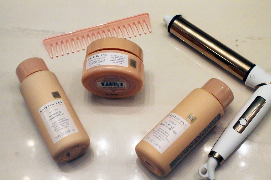 how to apply purple shampoo