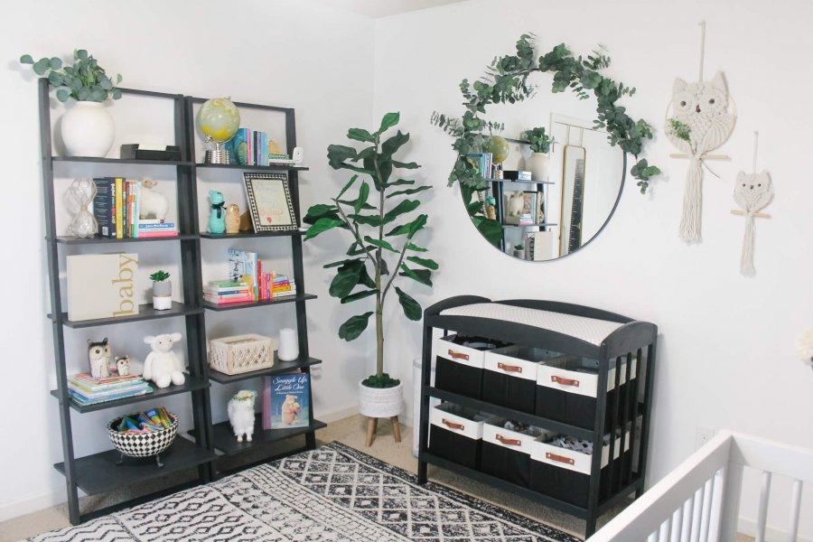 Gender Neutral Black and White Nursery